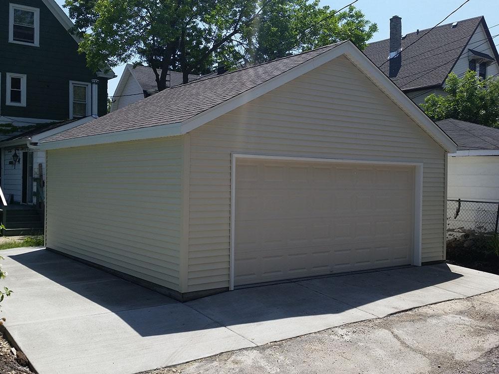 2 1 2 Car Detached Garages Supreme Garages Inc