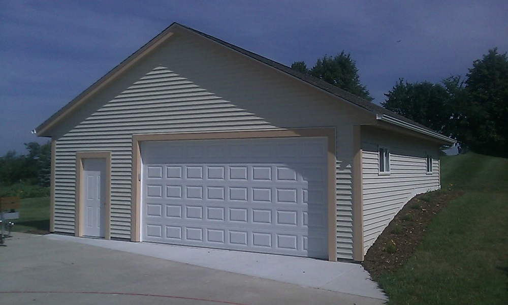 3 Car Garage Block : Car detached garages supreme inc